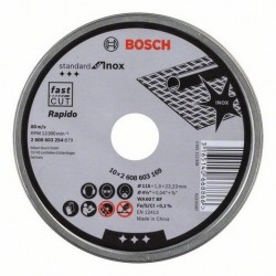 Bosch doorslijpschijf standard for Inox-Rapido 115mm