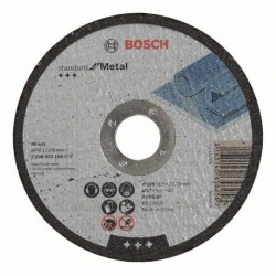 Pak Bosch doorslijpschijf standard for Metal 125mm (25)
