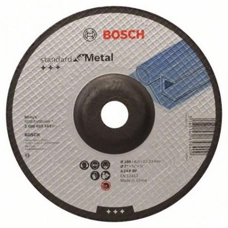 Bosch afbraamschijf gebogen Standard for Metal 180mm (10)