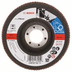 Bosch lamellenschuurschijf Best for Metal recht 115mm k80 (10)