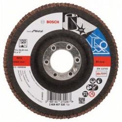 Bosch lamellenschuurschijf Best for Metal recht 115mm k120 (10)