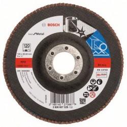 Bosch lamellenschuurschijf Best for Metal recht 125mm k120 (10)