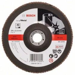 Bosch lamellenschuurschijf Best for Metal recht 180mm k40 (10)