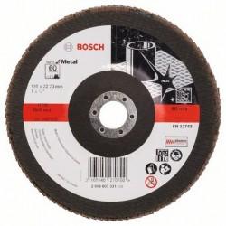 Bosch lamellenschuurschijf Best for Metal recht 180mm k60 (10)