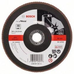 Bosch lamellenschuurschijf Best for Metal recht 180mm k80 (10)