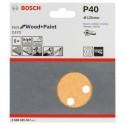 Bosch schuurbladen C470 125mm 8 gaten k40 (50)