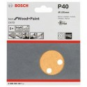 Bosch schuurbladen C470 125mm 8 gaten k150 (50)